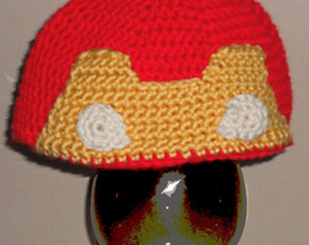 Man of Iron *inspired* Hat Crochet Pattern Fits 2T-5T