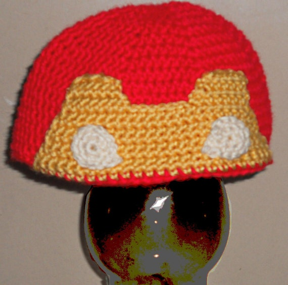 Free Crochet Pattern Iron Man Hat : Gallery For > Iron Man Hat Of Crochet