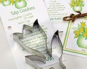 Cookie Cutter, Tulip Cookie Cutter, Cookie Cutter Favors, Flower Cookie Cutter, Tea Party, Garden Party Favors, Gift Basket, Party Favor