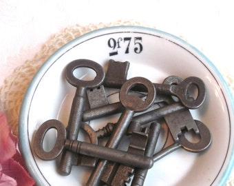European Antique Skeleton Keys-Set/3