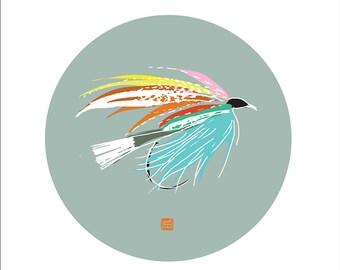 Carococo ArtPrint by Carol-Anne Pedneault / Mouche 2 / 12x12