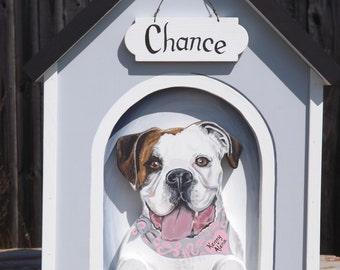 Dog House Wedding Card Box for Large Wedding