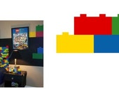 Decals for Legos Room One Set