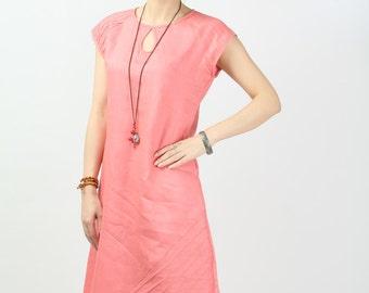Maxi Dress Unique Loose fitting Long Vest Sundress Summer Dress(more colour and size choice)