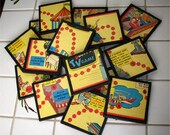 Coasters Classic Boardgame HOWDY DOODY set of 6