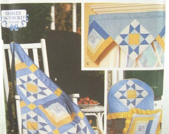 Simplicity 9169 Quilt Block Club Variable Star and Log Cabin Sewing Pattern