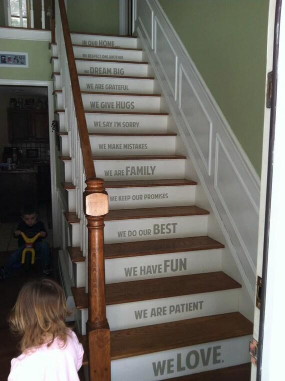 Auf unserer startseite treppen treppe vinyl von alastingexpression