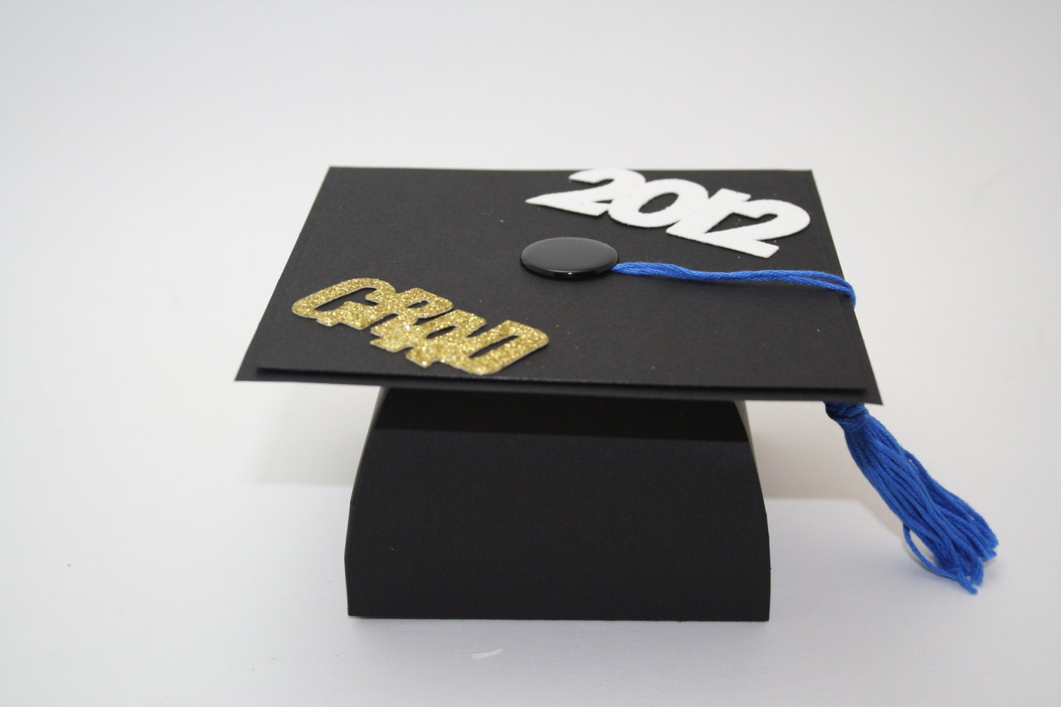 GRADUATION Cap Table Decoration Balloon Weight Candy Bowl