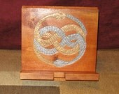 Hand Carved Auryn Device Stand