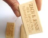 Valentines Day Card Return Address Stamp. Personalized Stamp. Wedding Invitation Stamp. Wedding Gift Idea.