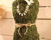 Moss dressmaker form