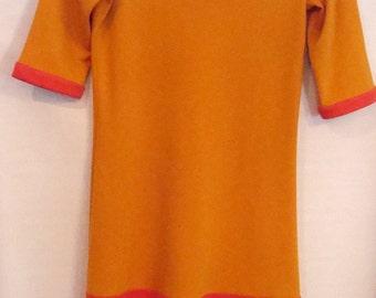 Color Blocked Knit Dress