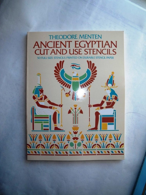 Ancient Egyptian Design Stencils