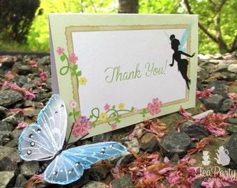 Fairy Party Thank You Notes - Garden Fairy Collection