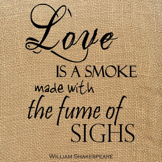 Items Similar To Shakespeare Valentine Quote Digital Love