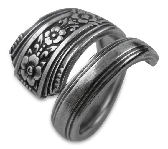 Silver Spoon Jewelry - Fortune - Silverware Ring