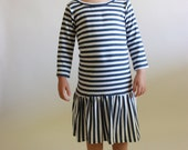 city dress / pdf sewing pattern / toddler 12m to girls 10/12 / instant download