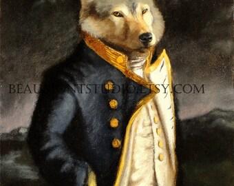 A Gentleman of Merit - 8x10 print
