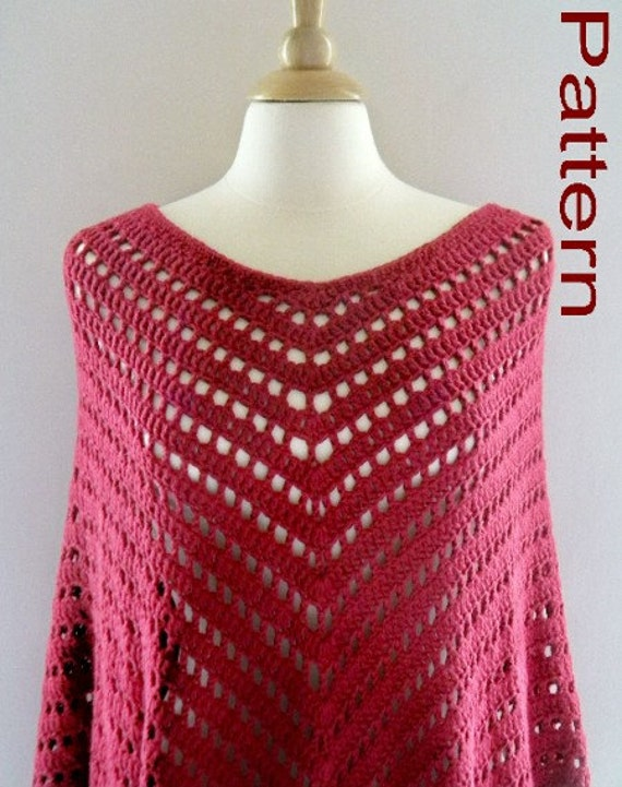 PDF Pattern Crocheted Bay Breeze Open Mesh by CatsSoftStitches