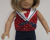 NAVY LEGGINGS 18 inch doll clothes