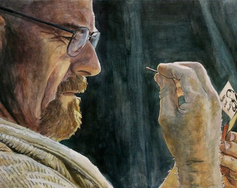 Breaking Bad, Print from Original Painting