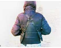 Holster bag // Unisex // Adjustable // Waxed denim or Cotton