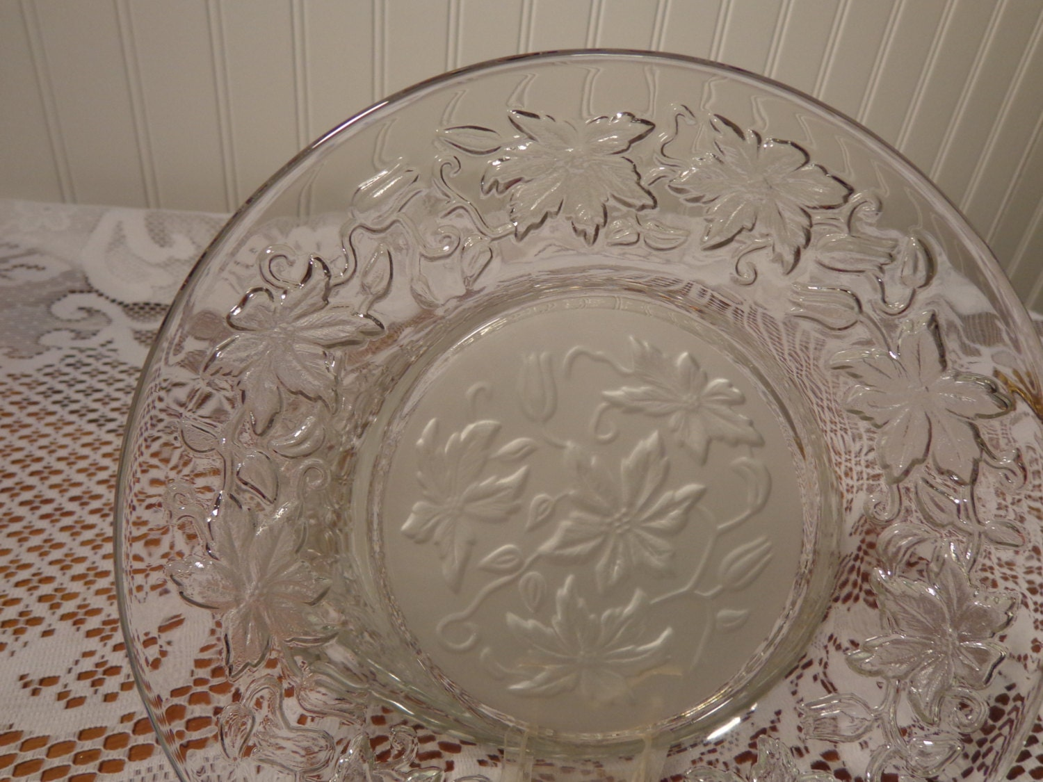 Items similar to princess house fantasia crystal salad for Princess housse