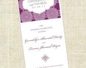 Bi-Fold - Printable Wedding Program