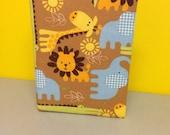 Allover Zoo Animal Giraffe Elephant Book Photo Album