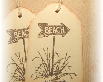 Beach Tag- Sign- Gift Tags (8)
