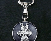 Shadow of the Colossus Weak Point Sigil Keychain