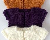 Custom Bolero sweater for YoSD 1/6 BJD - Hand Knit made to order