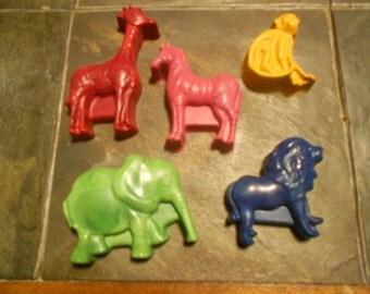 Zoo Crayons Set of 5