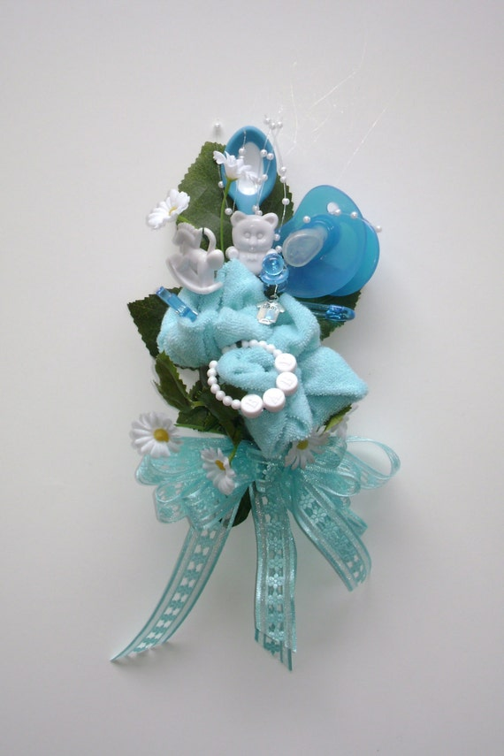 baby shower corsage baby washcloth corsage boy or girl new mom