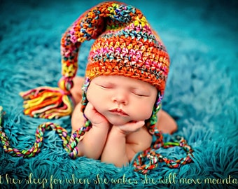 Newborn Baby Girl Photo Prop Hudson Hat