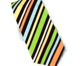Boy's Neck Tie Summer Stripes