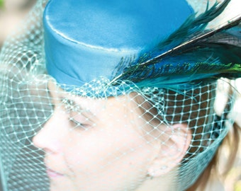 PDF Pillbox Sewing Pattern for Veiled Birdcage Pillbox Hat, One Size Fits All