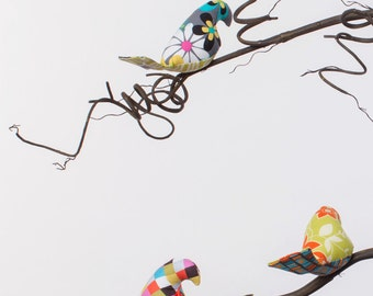 Sofia Collection - Single or Double Tier Bird Mobile