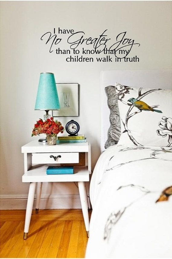 My Children Walk in Truth Wall Decal TheVinylCompany