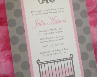 Classic Nursery Collection: Printable Baby Shower Invitation