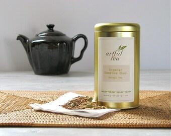 Rooibos Chai Organic Tea • 4 oz. Tin • Loose Leaf Herbal Blend w/ Ginger, Cardamom, Cinnamon, Cloves