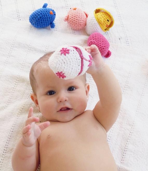 Amigurumi Baby Chicks : Baby toy eggs & chicks Crochet Amigurumi Pattern PDF by bySol
