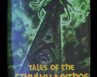 Tales of the Cthulhu Mythos - H P Lovecraft and Others - Bizarre Story Collection - Illustrated by J K Potter - 1990 Arkham House Press