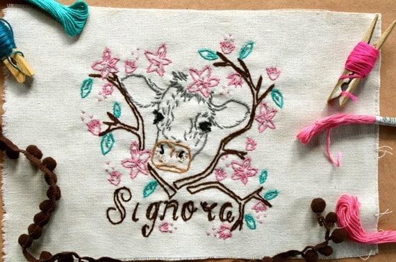 Signor - Signora Embroidery Pattern (Couple)