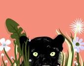12 x 18 Print - Panther