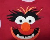 Animal Muppet Baby Bib Made to Order