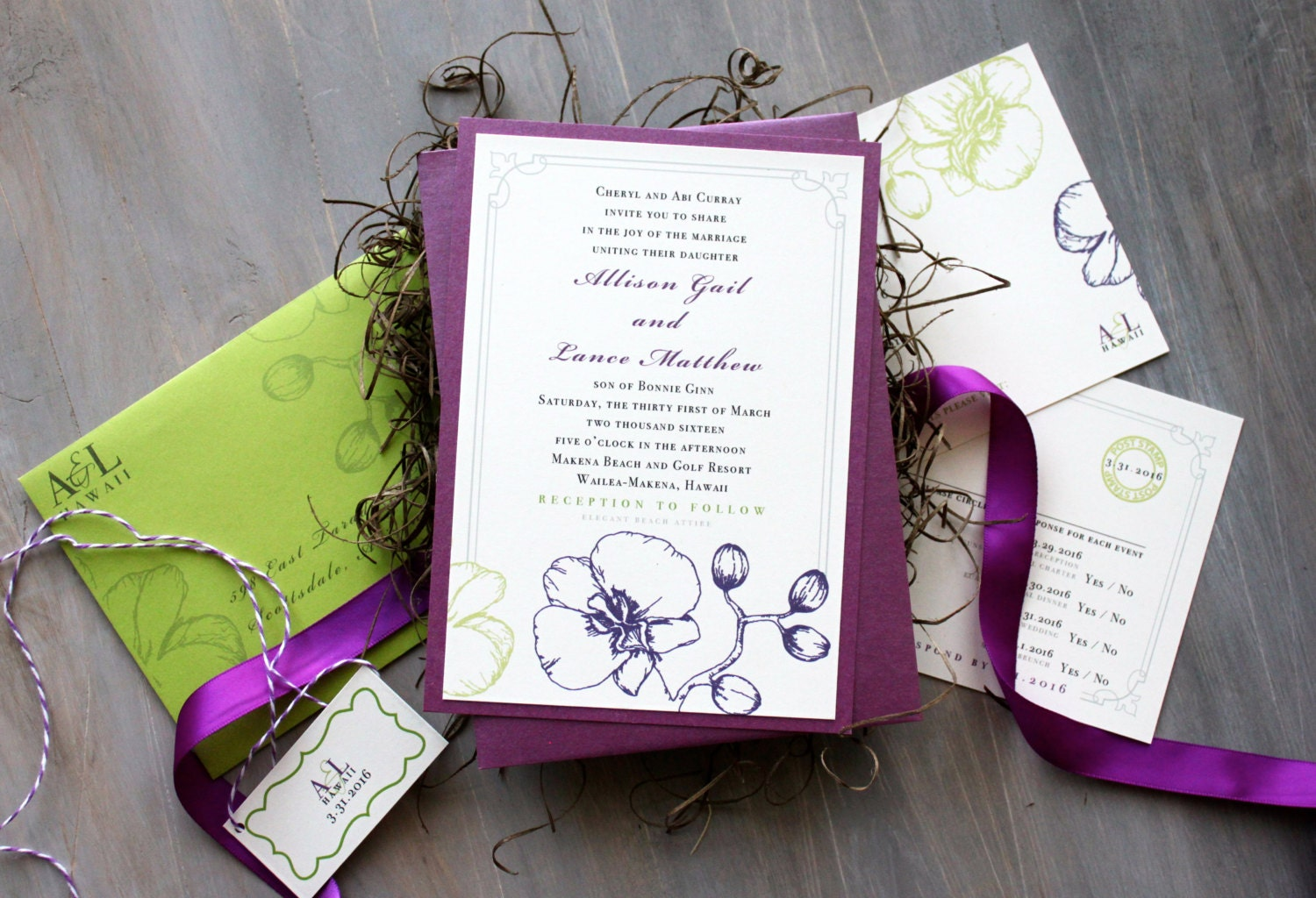 Classy Wedding Invites: Unavailable Listing On Etsy