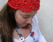 CROCHET PDF Pattern  - Summer Fashion Accessories - handcrochet headband