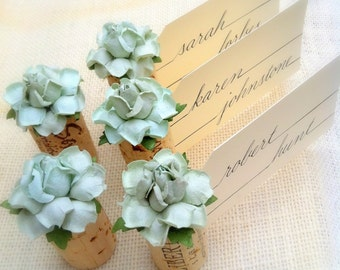 succulent name card holder wedding wine themed bridal shower place card holder succulent