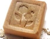 Orange Vanilla Goats Milk Soap -  Handmade Soap - EcoChicSoaps
